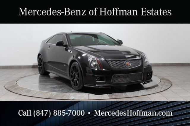 Used Cadillac CTS-V Coupe with Supercharged V8 Engine
